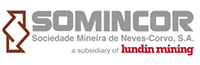 SOMINCOR is a Portuguese company that owns and operates the Neves Corvo copper and zinc